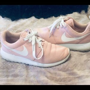 Baby pink Nike's